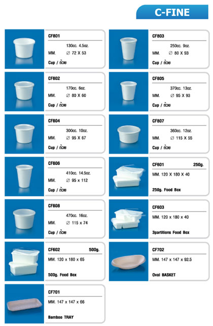 products C-Fine (polystyrene)