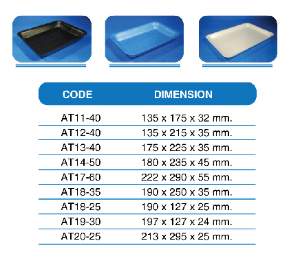 products ABSORBENT TRAY
